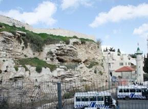 Gordons Golgata i Jerusalem