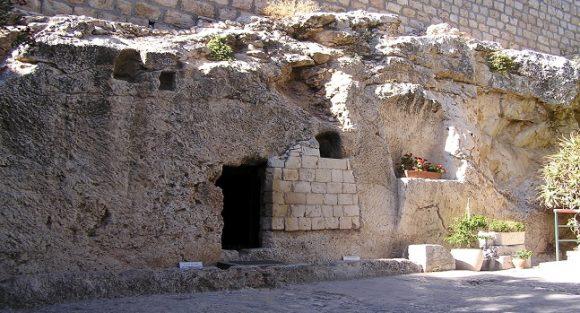 Gordons Golgata - trädgårdsgraven i Jerusalem