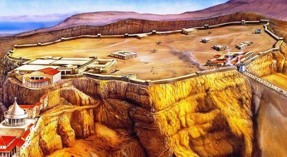 Masadas fästning för två tusen år sedan