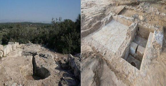 2100-årig vinpress upptäckt i Ashkelon