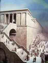 Robinson's Arch under perioden för det 2:a Templet