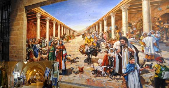 Cardo – antik huvudgata i Jerusalem