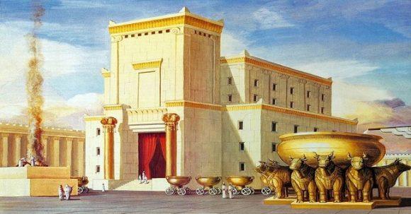 Bevis på det 1:a Templet