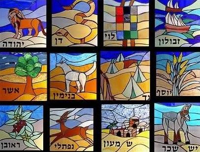 Israels tolv stammar