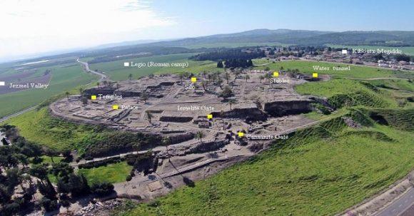 Tel Megiddo – gammalt slagfält