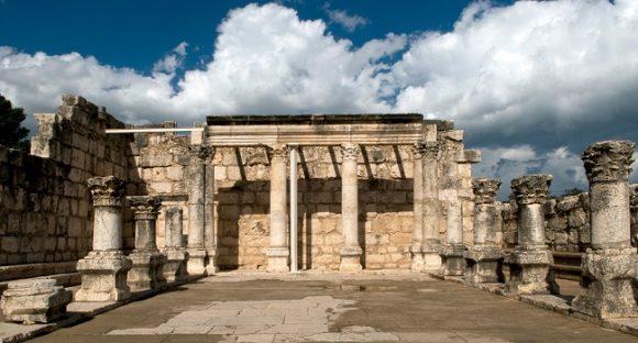 Antika synagogor i Israel