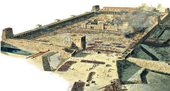 2:a Templet slutfördes efter kung Herodes död