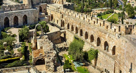 Artefakter från Juda finns i Jerusalems Davids stad