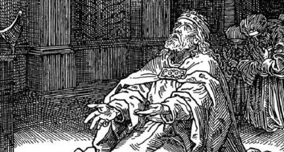 Bevis på att kung Hiskia förstörde statyer som visade avgudar