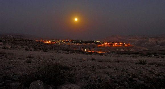 Arkeologiska upptäckter i den israeliska öknen