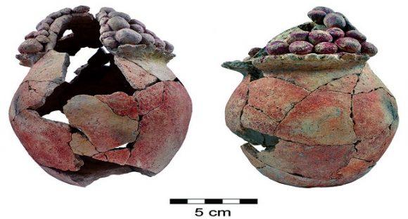 7200 år gammalt lerkärl upptäckt i Jordandalen