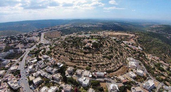 Undersökning av platsen där Förbundsarken stod på Bibelns tid