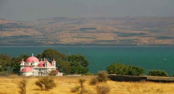 Saligprisningarnas berg i Galilén
