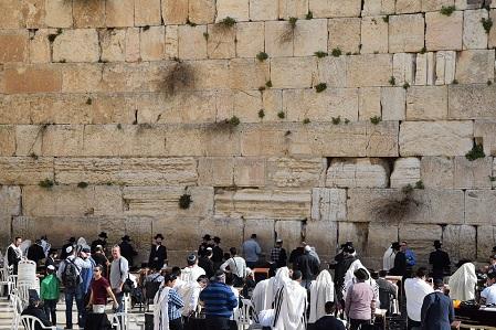Den judiska historien i Jerusalem sedan 3000 år tillbaka