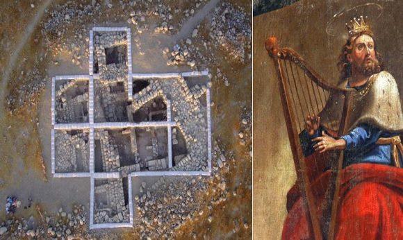 Kung David kopplas till antik stad
