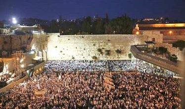 Kotel - heligaste bland judiska platser