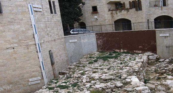 Broad Wall i Jerusalem